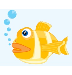 Tropical fish in ocean vector image vector image