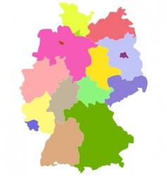 Deutschland vector image vector image