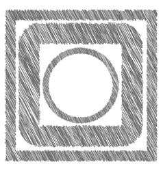 Grey frames vector