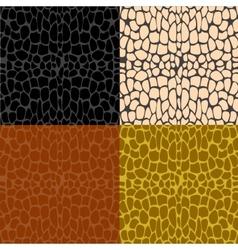 Several samples stone wall vector image