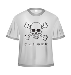 Danger t shirt vector
