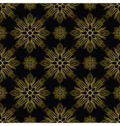 Inca tile gold vector
