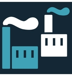 Industry icon from business bicolor set vector
