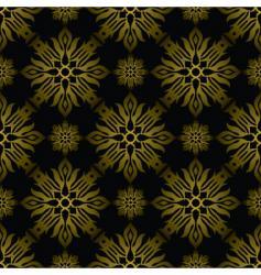 Inca tile gold vector