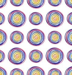 Polka dots pattern vector image vector image