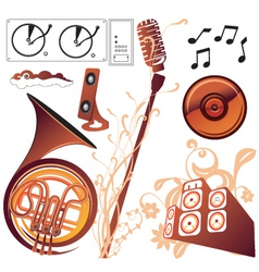 Music graphics vector