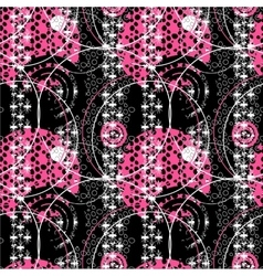 Retro pop 80s seamless pattern vector