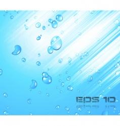 liquid bubble vector image