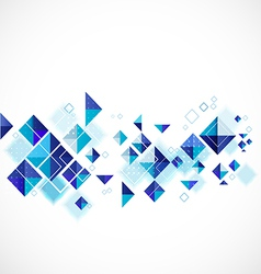 Blue abstract modern geometric for business vector