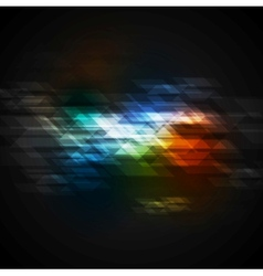 Dark colorful technical design vector
