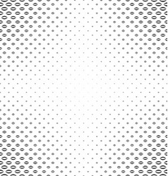 Abstract black and white curved shape pattern vector