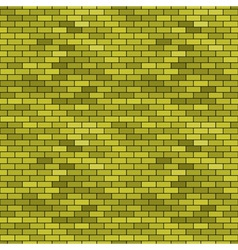 Abstract seamless brick pattern vector image vector image