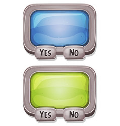 Answer box for ui game vector
