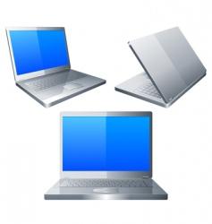 Laptops vector