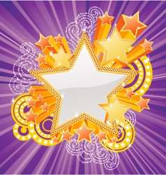 Marquee star vector