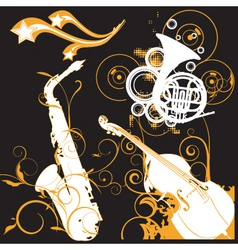 music graphics vector image vector image