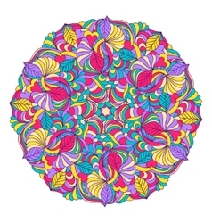 Abstract colorful mandala vector