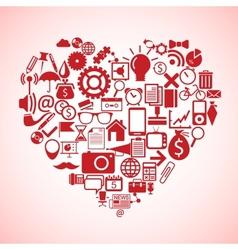 Heart concept vector image