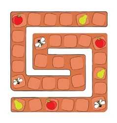 board game for children vector image
