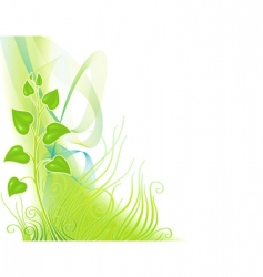 Metaphor of growth vector