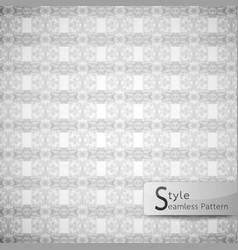 abstract seamless pattern ribbon row lattice vector image