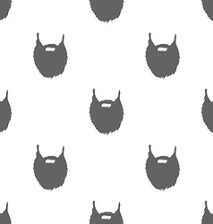 Bears Seamless Pattern Background vector image vector image