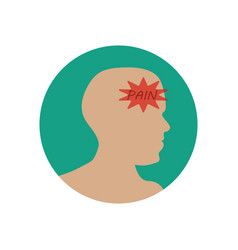 Headache vector