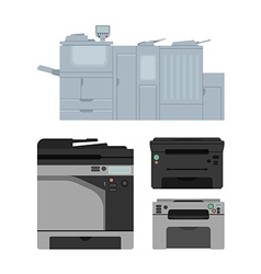 Laser printer vector image vector image