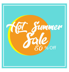 Summer sale background design vector