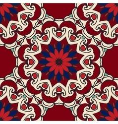 Luxury Damask seamless motif pattern vector image
