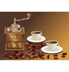 Morning coffee vector