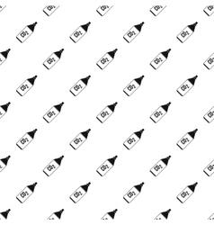 Co2 bottle pattern simple style vector