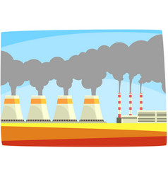 Energy generation power station thermal or nulear vector