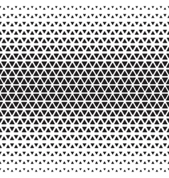 Halftone monochrome geometric pattern vector