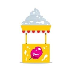 Ice cream shop cartoon vector