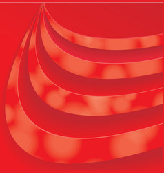 Red Swirl pattern vector image