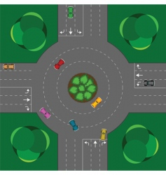 Round intersection vector