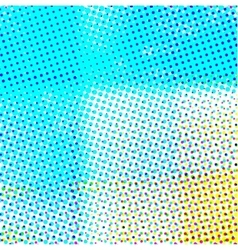 Abstract background in color halftone effect vector