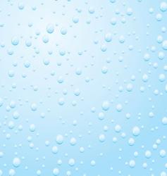 Raindrop on a window pane vector