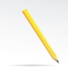 Pencil isolated on a white backgrounds vector