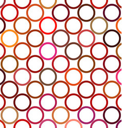 Colorful abstract circle pattern background vector