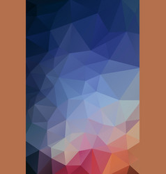 flat vertical background of geometric shapes vector image vector image