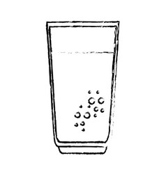 Juice fruit glass icon vector