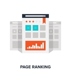 Page ranking concept vector