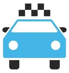 Taxi Automobile Eps Icon vector image