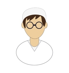 Medic or doctor icon vector