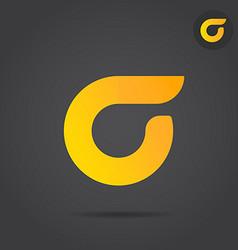 Sigma letter logo sign vector