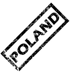 Poland stamp vector