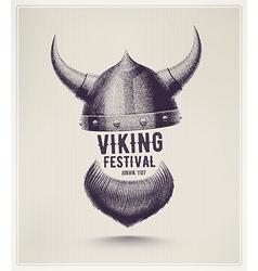 Viking Festival vector image