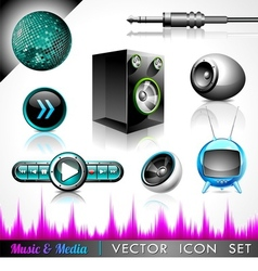 Music and media vector